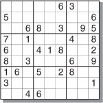 4 Best Images Of Free Medium Printable Sudoku   Sudoku