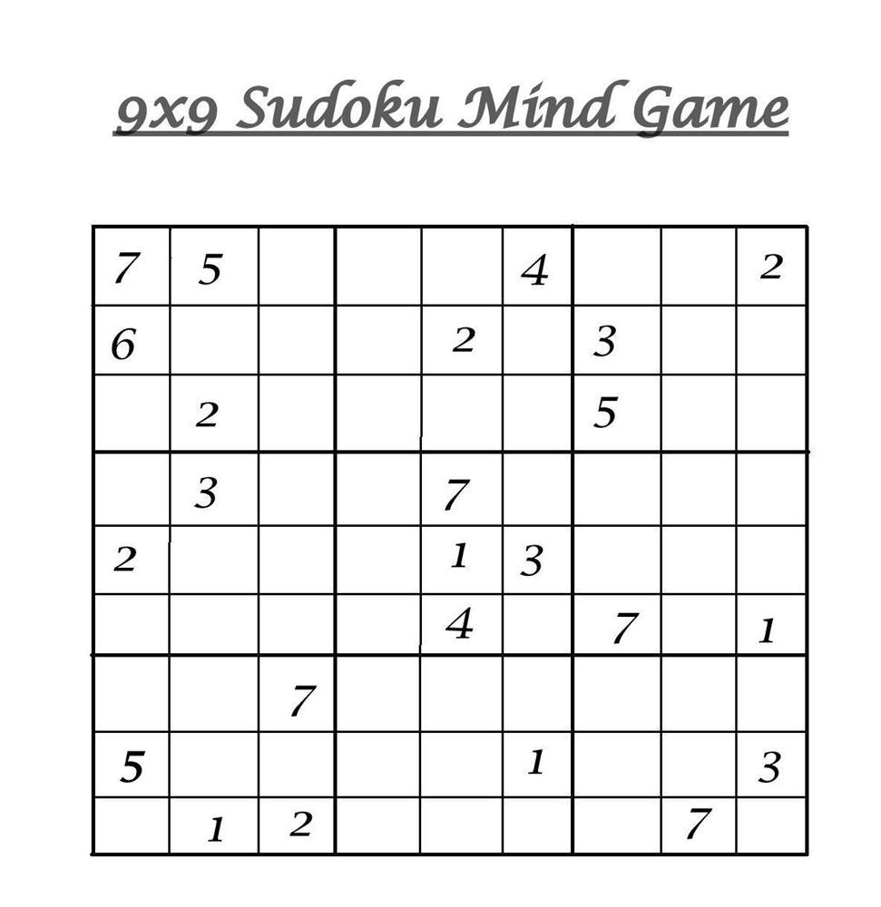 9X9 Sudoku 9