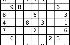 Sudokusplashzone Print Printable Sudoku