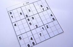 Evil Sudoku Free Printable