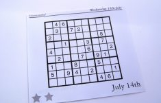 Free Printable Jigsaw Sudoku Archives
