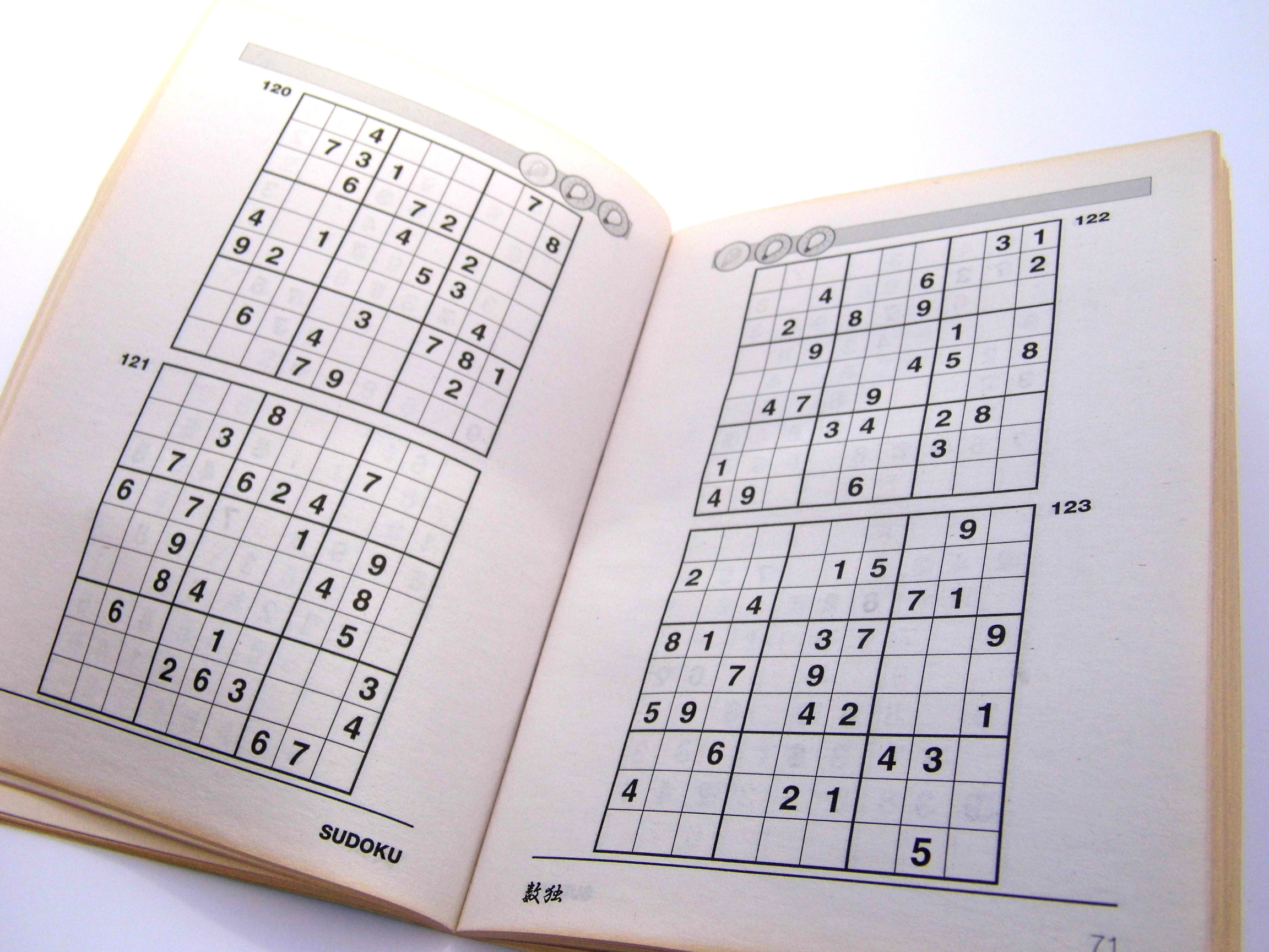 Beginner Printable Sudoku Puzzles 6 Per Page – Book 2 – Free
