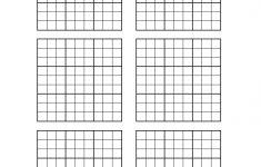 Blank 6×6 Sudoku Grid Printable