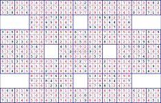 Free Super Sudoku Printable