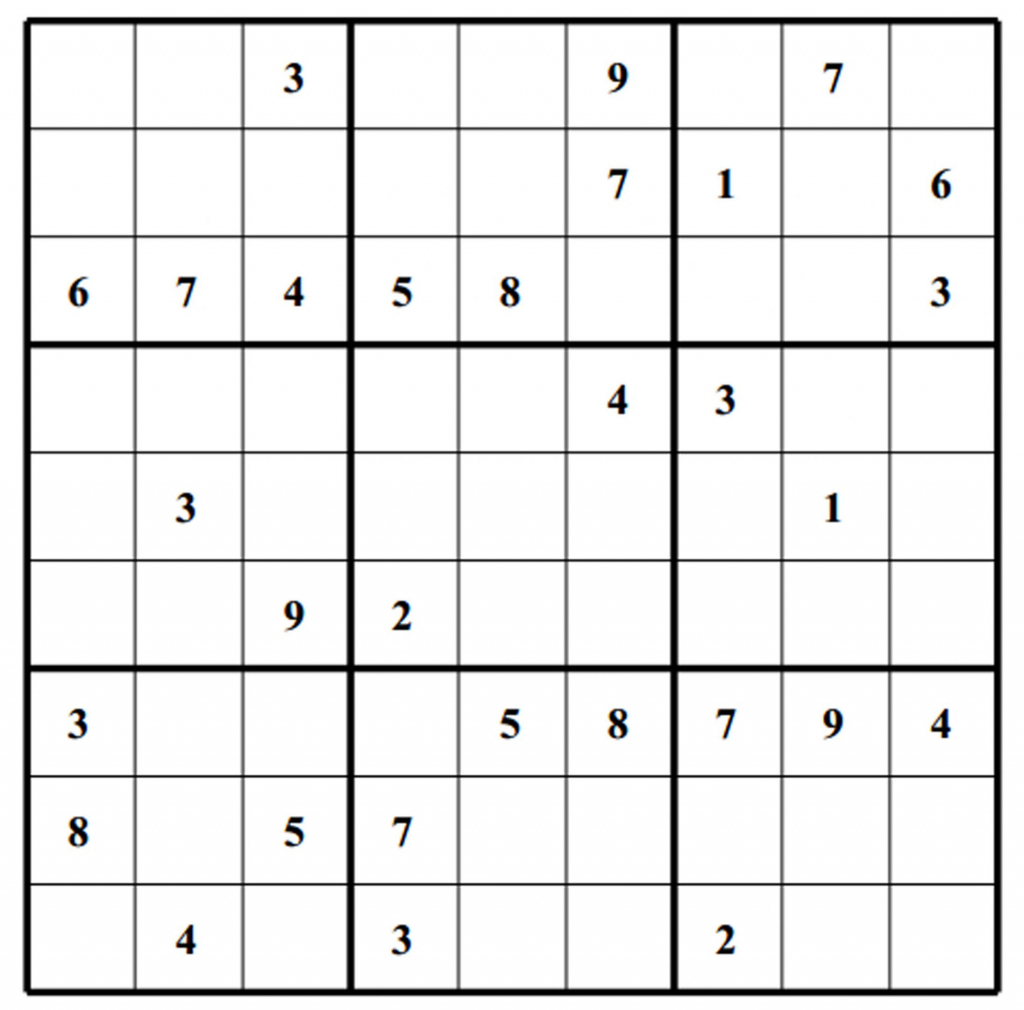 Blank Sudoku Worksheet | Printable Worksheets And Activities