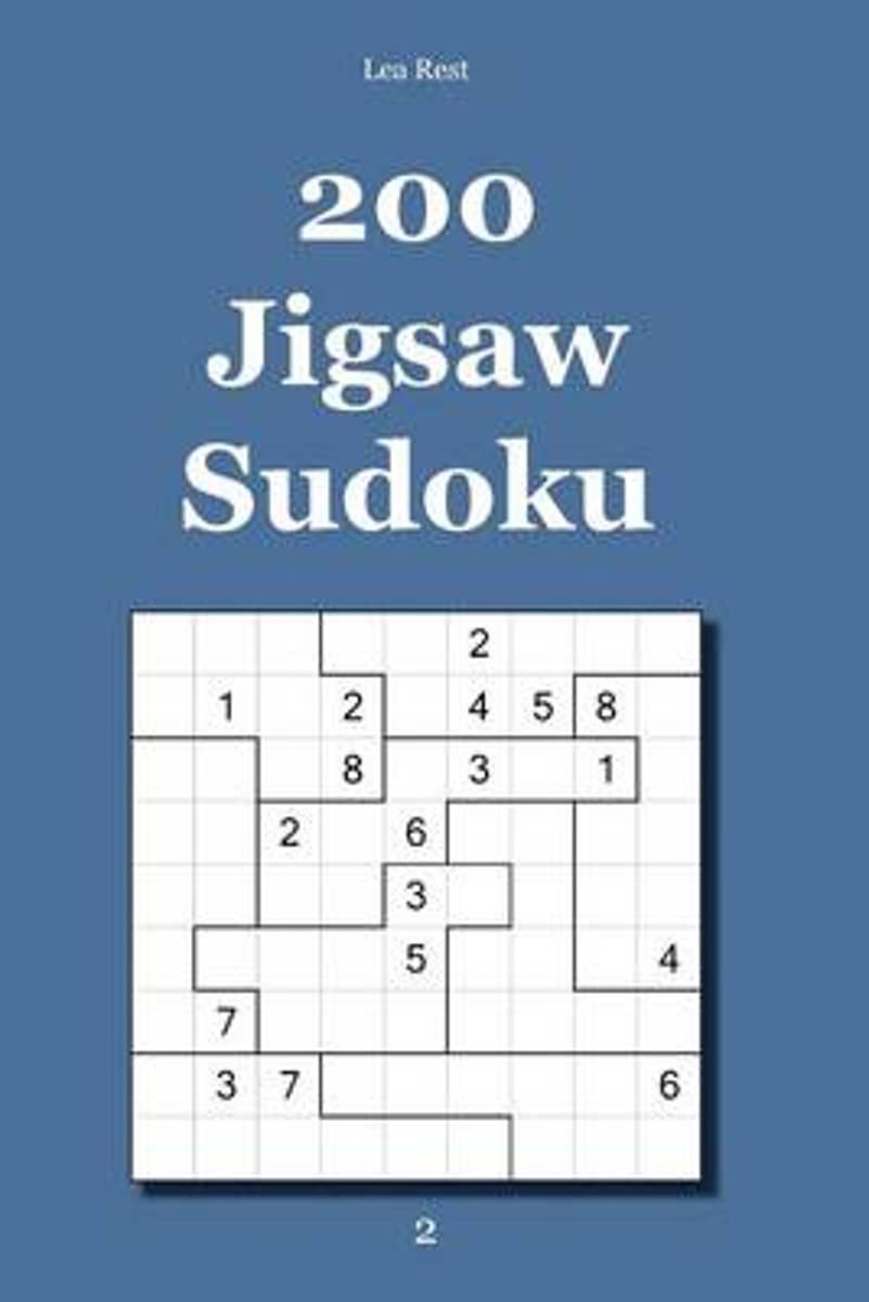 Bol | 200 Jigsaw Sudoku 2, Lea Rest | 9783954972913 | Boeken