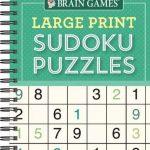 Bol | Brain Games Large Print Sudoku | 9781640304598