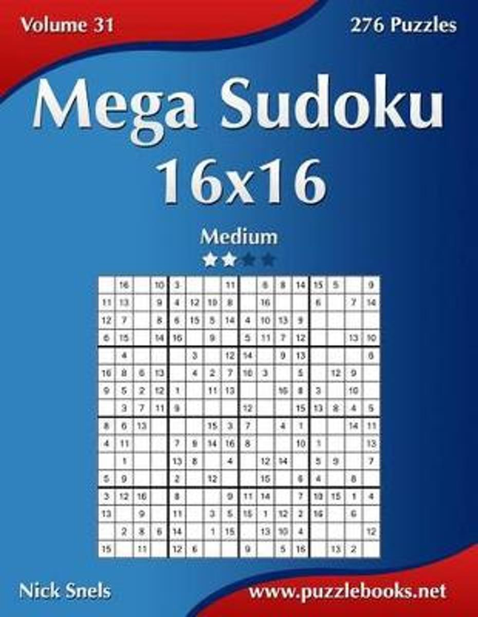 Bol | Mega Sudoku 16X16 - Medium - Volume 31 - 276