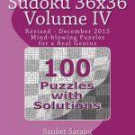 Bol | Sudoku 36X36 Vol Iv | 9781466209497 | Sanket