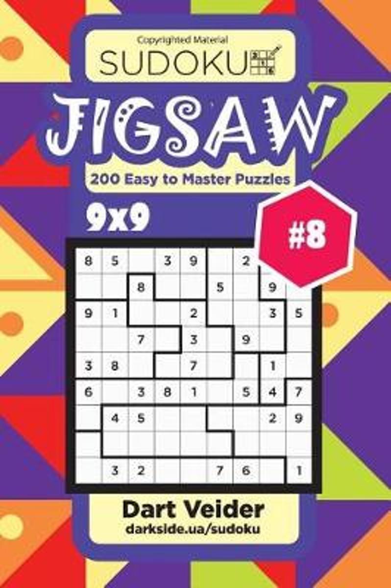Bol   Sudoku Jigsaw - 200 Easy To Master Puzzles 9X9