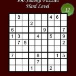 Bol   Sudoku Large Print   Hard Level   N 12, Lani