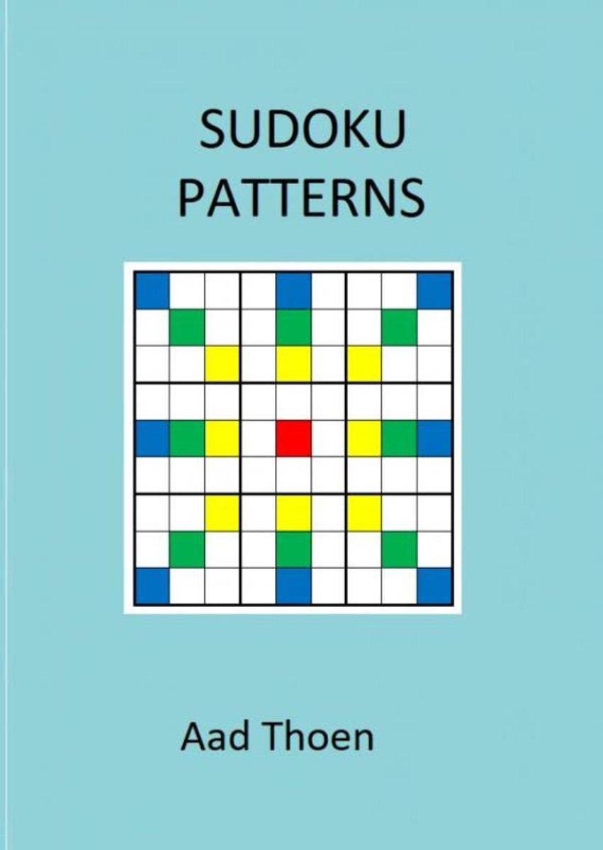 Bol | Sudoku Patterns, Aad Thoen | 9789402188349 | Boeken