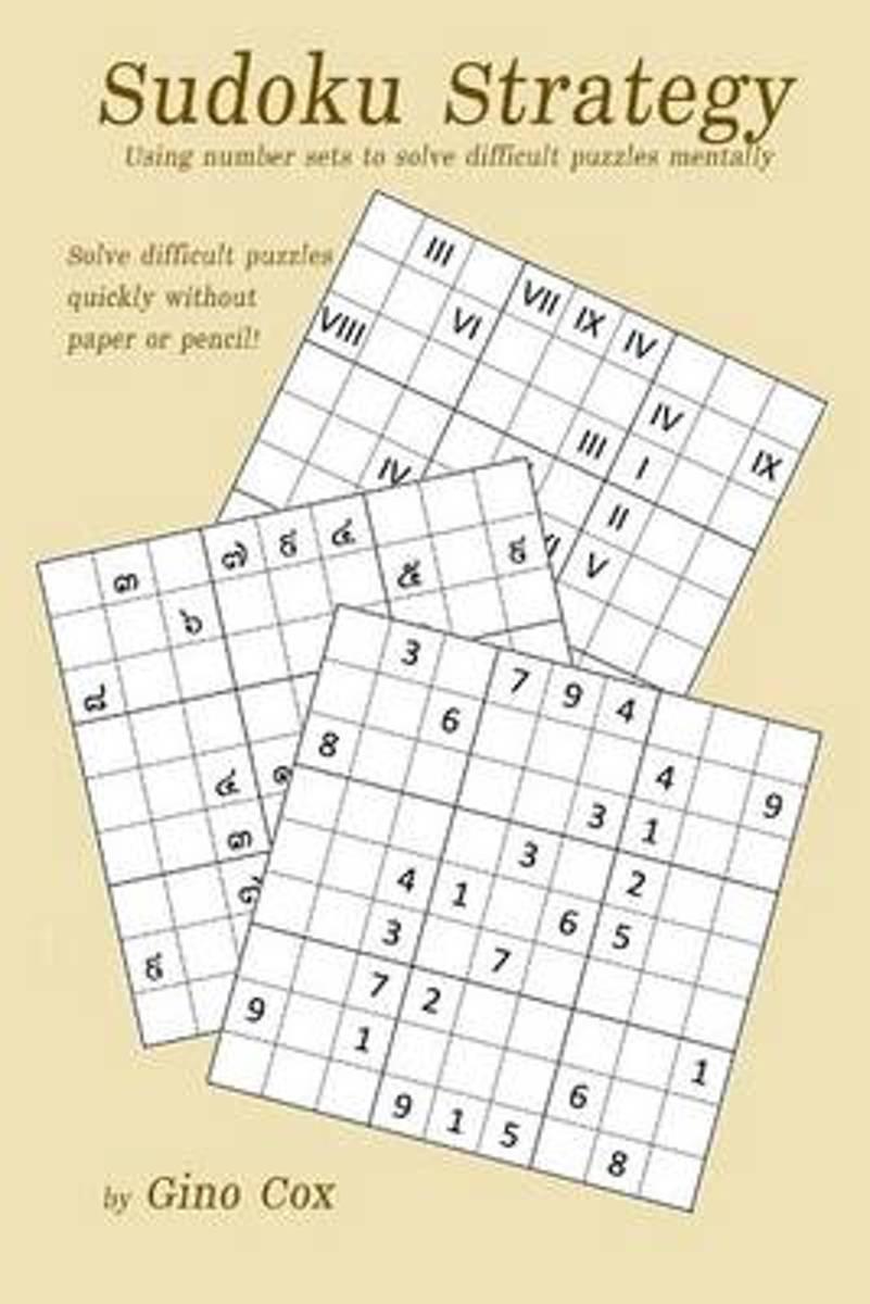 Bol | Sudoku Strategy | 9781523353026 | Gino Cox | Boeken