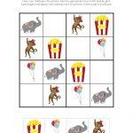 Circus Sudoku {Free Printables}   Gift Of Curiosity