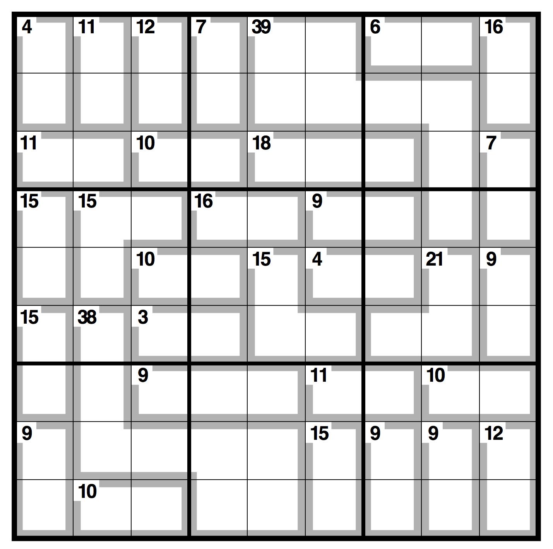 Daily Killer Sudoku | Galtest.proficad. 2020-07-27