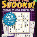 Dell Sudoku Magazine Over 600 Puzzles Easy Medium Hard Super Challenger 2012