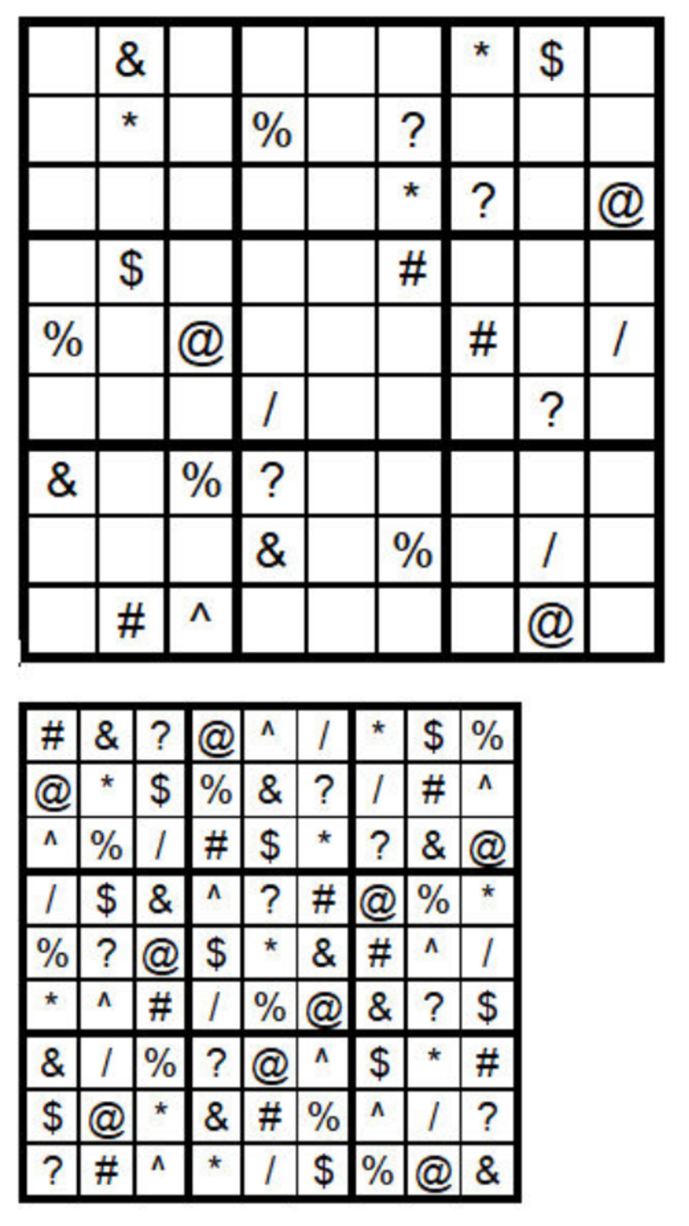 Do Never Been Published Sudoku Puzzles For You