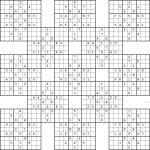 Double Harakiri Sudoku X