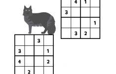 4×4 Printable Sudoku
