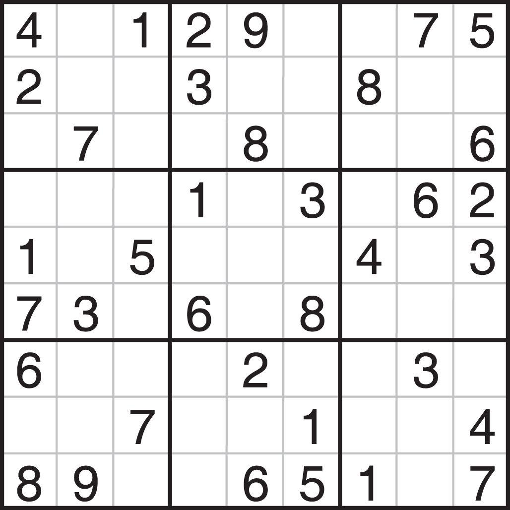 Easy Sudoku Printable - Dalep.midnightpig.co