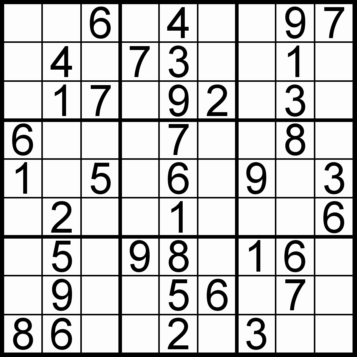 Easy Sudoku Printable - Falep.midnightpig.co