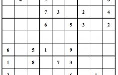 Free Printable Sudoku Hard