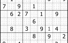 Free Printable Sudoku No Download