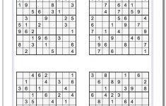 Even Sudoku Printable