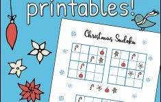 Christmas Easy Sudoku Printable