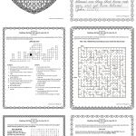 Free Lds Worksheets And Printables   Mazes, Crosswords, Word