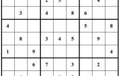 Printable Sudoku Puzzles 3 Star