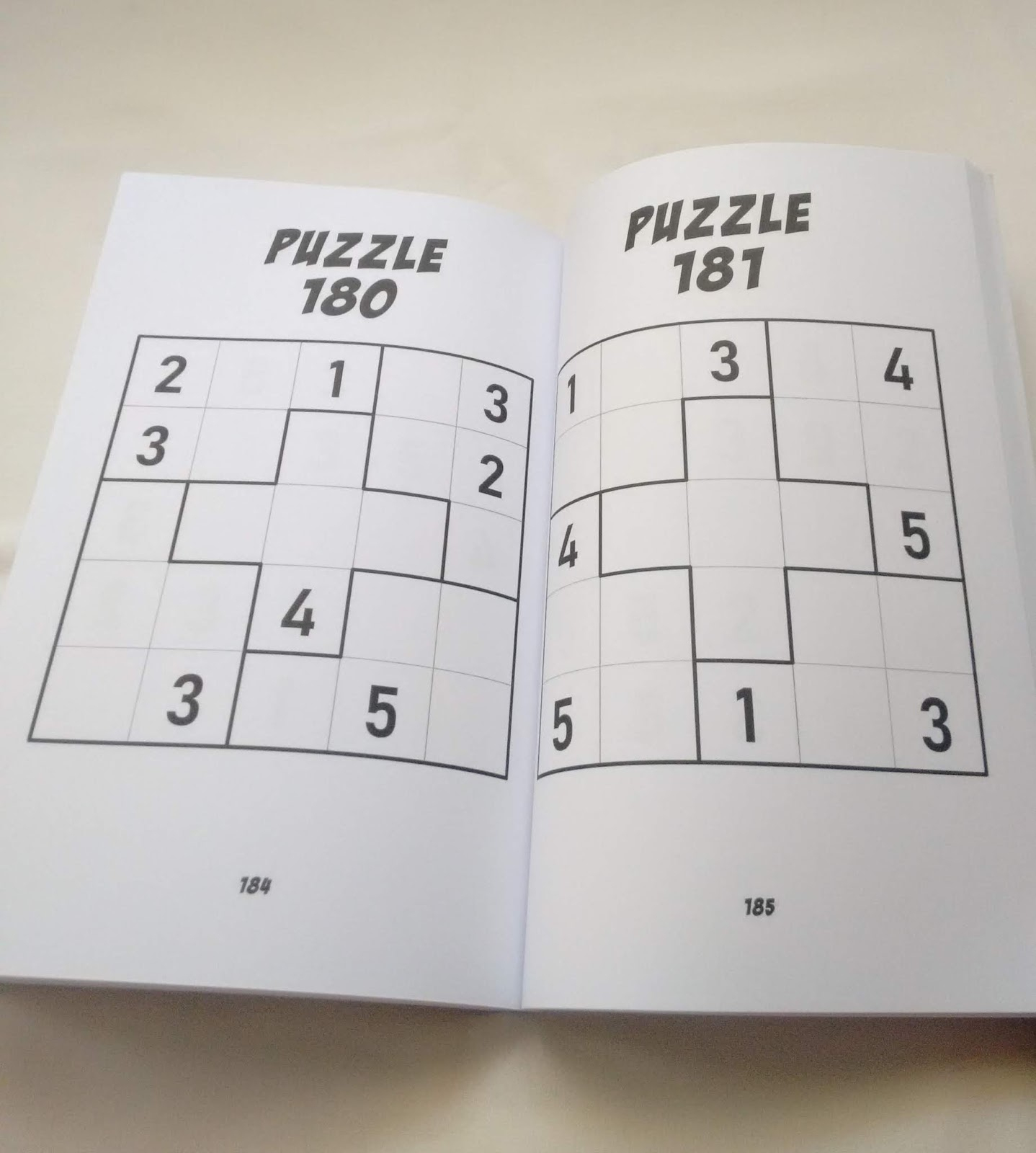 Gabriel Fernandes' Puzzle Collection: 5X5 Sudoku - Vol.1