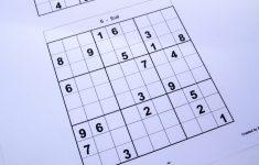 Free Printable Sudoku Puzzles 2 Per Page