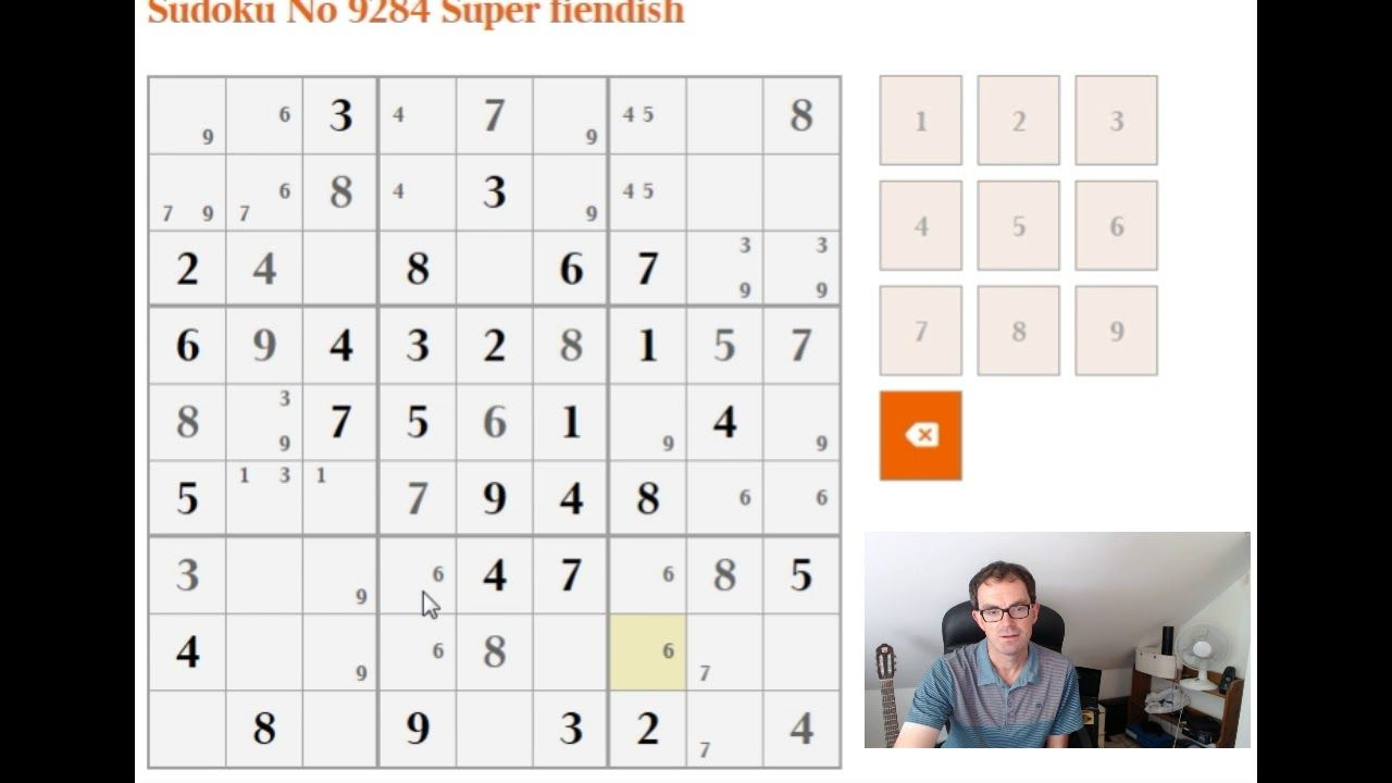 How To Solve The Super Fiendish Sudoku | Sudoku, Sudoku