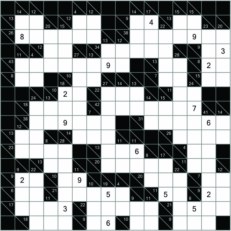 Kakuro, Kakuro Puzzles, Kakuro Solver, Kakuro Puzzle Books