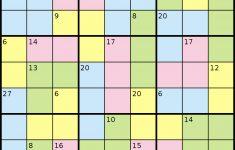 Killer Sudoku Puzzles Printable
