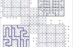 Jigsaw Printable Sudoku