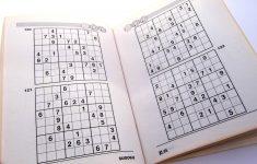 Printable Sudoku Puzzles 2 Per Page