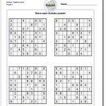 Medium Sudoku Puzzles 200 Sudoku Puzzles For Intermediate