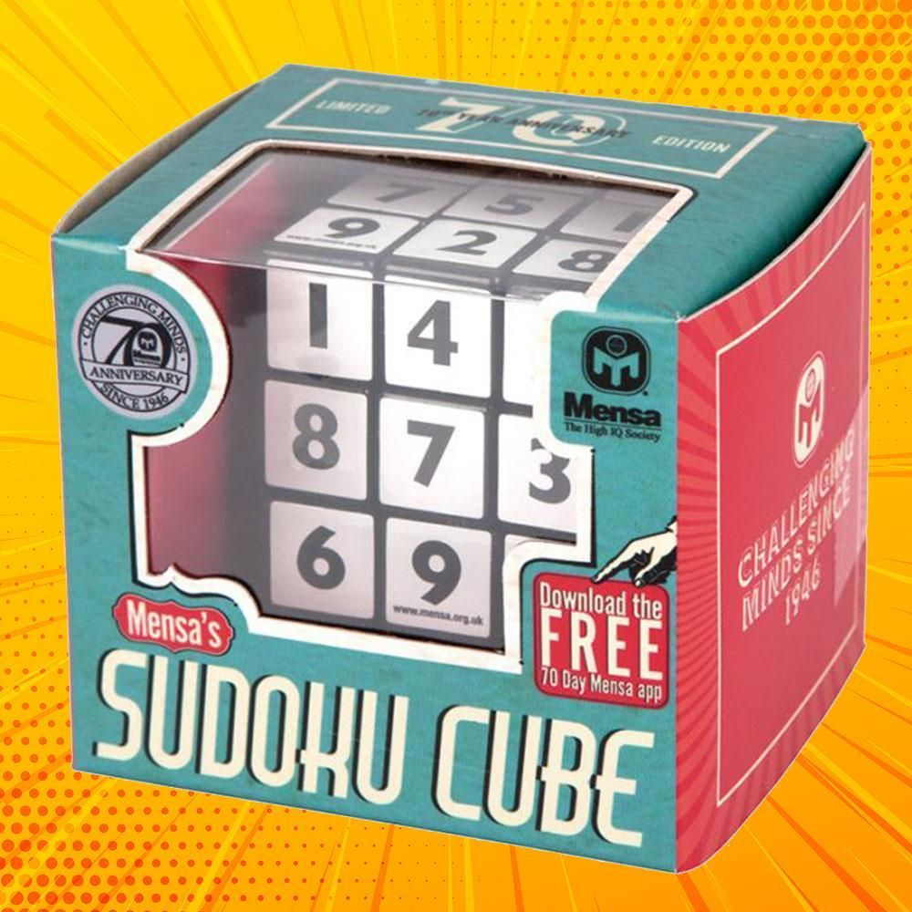 Mensa Sudoku Cube Number Puzzle | Number Puzzles, Cube