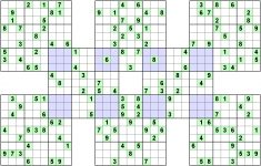 Printable 16×16 Sudoku With Letters And Numberss