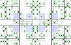 Printable Sudoku 16×16 Weekly