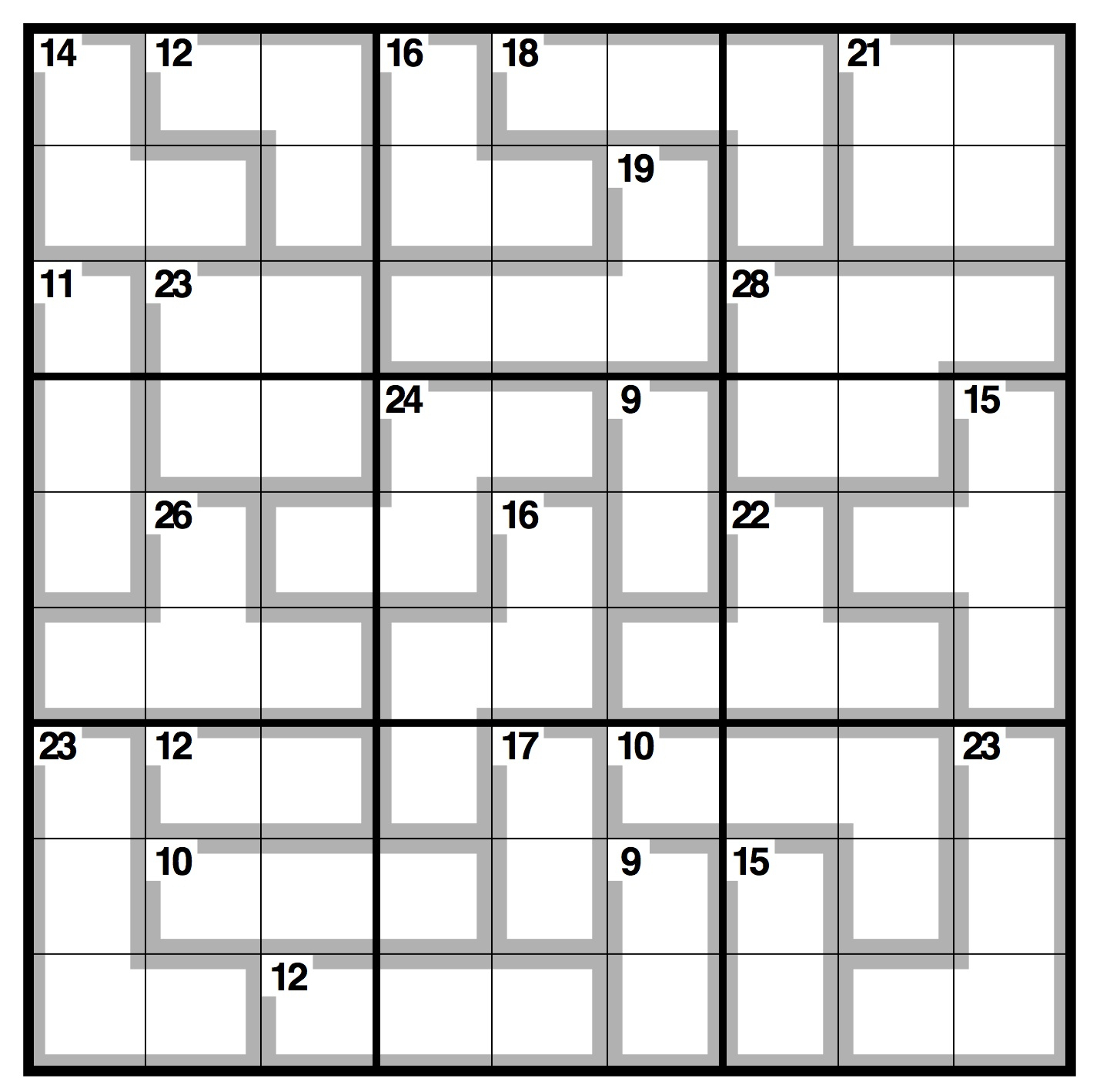 Observer Killer Sudoku | Life And Style | The Guardian