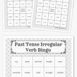 Past Tense Irregular Verb Bingo | Harry Potter Party, Free