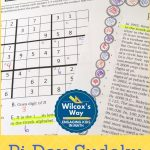 Pi Day Sudoku Activity Game | Pi Day, Pi Day Facts, High