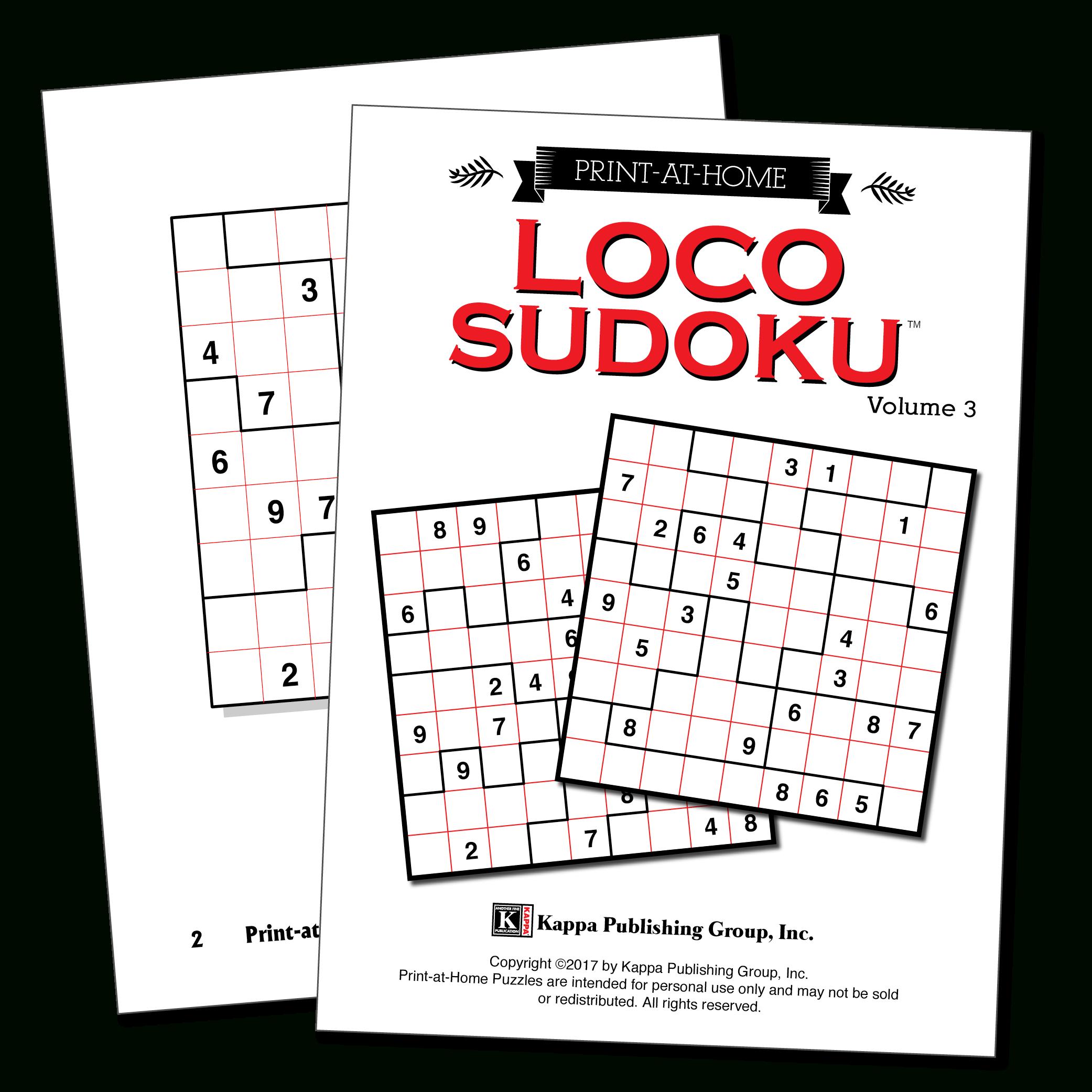 Print-At-Home Loco Sudoku
