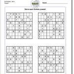 Printable Evil Sudoku Puzzles   Sudoku, Sudoku Printable