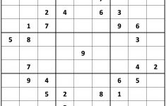 Extremely Difficult Sudoku Printable