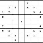 Printable Hard Sudoku | Printable   Difficult Sudoku Puzzles