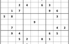 Online Printable Sudoku Puzzles